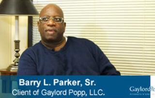 arry-Parker-Testimonial-Video-for-Gaylord-Popp-Law-Firm