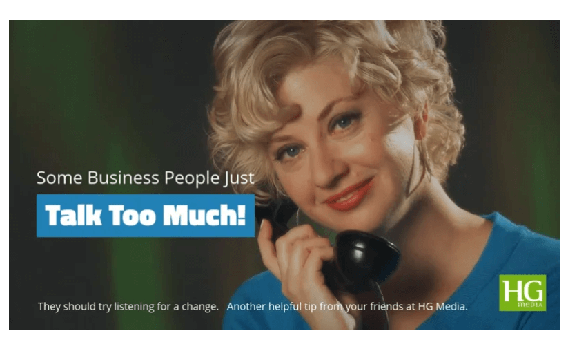 Some Business People Just Talk Too Much!