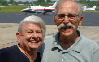 Naomi-Nierenberg -and-Pete-Rafle-on-the-Princeton-Flying-School-Podcast