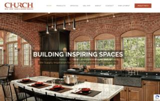 Church Brick Website Designed by HG Media